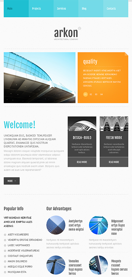 Joomla Theme/Template 46034 Main Page Screenshot
