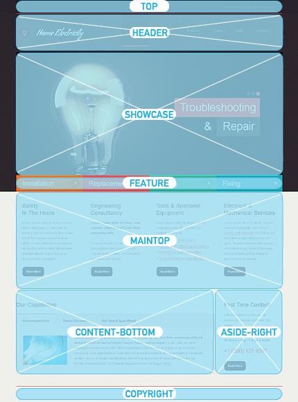 Joomla Theme/Template 46039 Main Page Screenshot