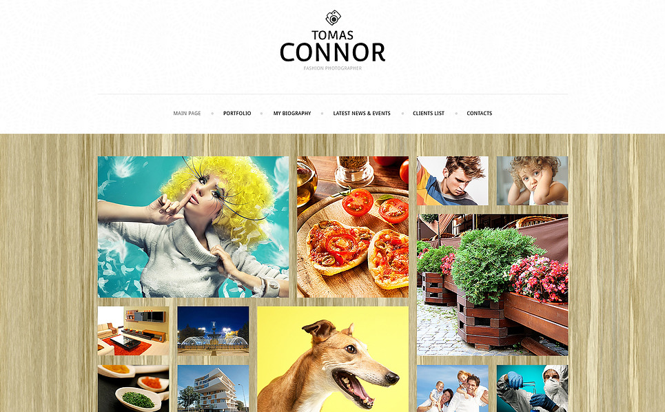 Responsive Joomla Template over Fotograaf Portfolio New Screenshots BIG