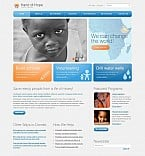 Charity Flash CMS  Template 46044