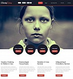 Charity Flash CMS  Template 46051