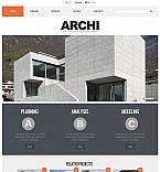 Architecture Flash CMS  Template 46052