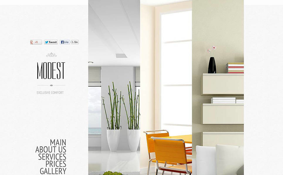 Plantilla Flash CMS #46056 para Sitio de Diseño interior New Screenshots BIG