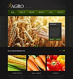 Agriculture Flash CMS  Template 46061