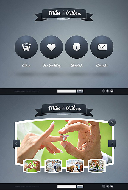 ADOBE Photoshop Template 46068 Home Page Screenshot