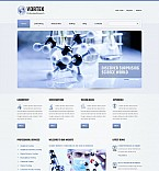 Science Flash CMS  Template 46070