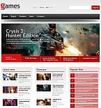 Games Flash CMS  Template 46071