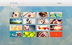 Art & Photography Website  Template 46079