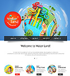 Entertainment Website  Template 46080