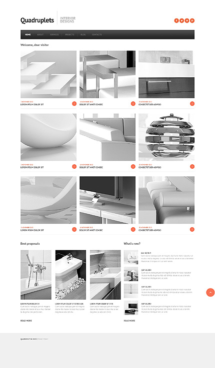 Joomla Theme/Template 46092 Main Page Screenshot