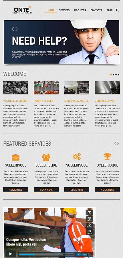 Joomla Theme/Template 46096 Main Page Screenshot