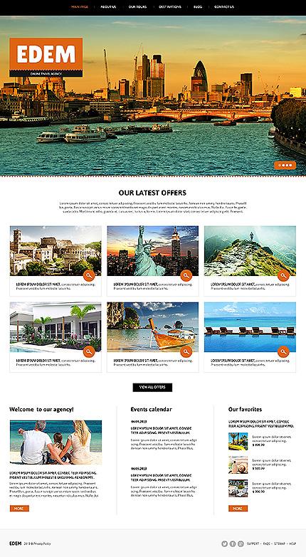 Joomla Theme/Template 46097 Main Page Screenshot