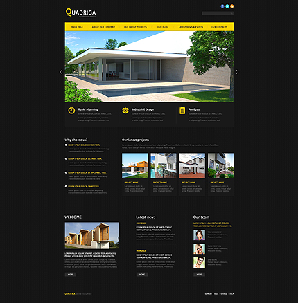 Joomla Theme/Template 46098 Main Page Screenshot