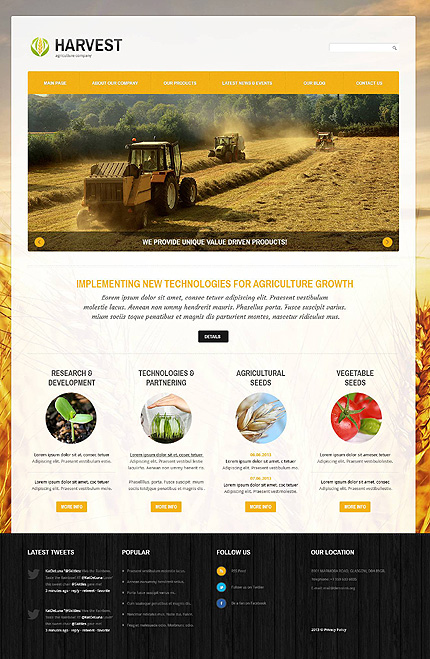 Website Template #46099
