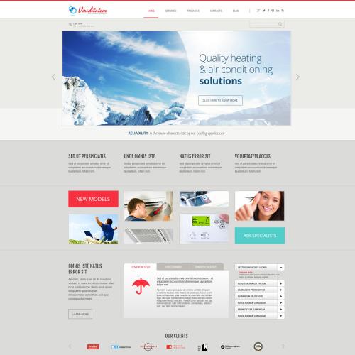 Viriditatem - WordPress Template based on Bootstrap