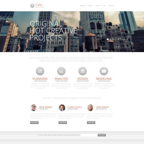 York - HTML5 Drupal Template