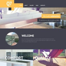 Interior Design Responsive Website