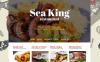 """Joomla шаблон """"Sea King Restaurant"""" New Screenshots BIG"""