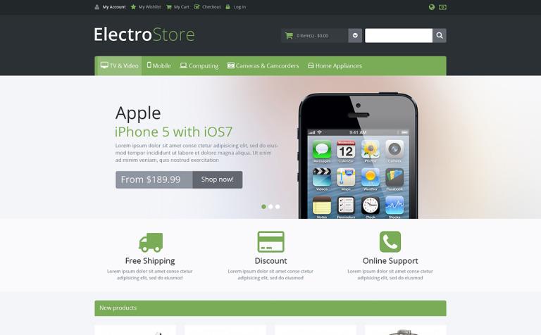 Responsive Electro Store Magento Theme