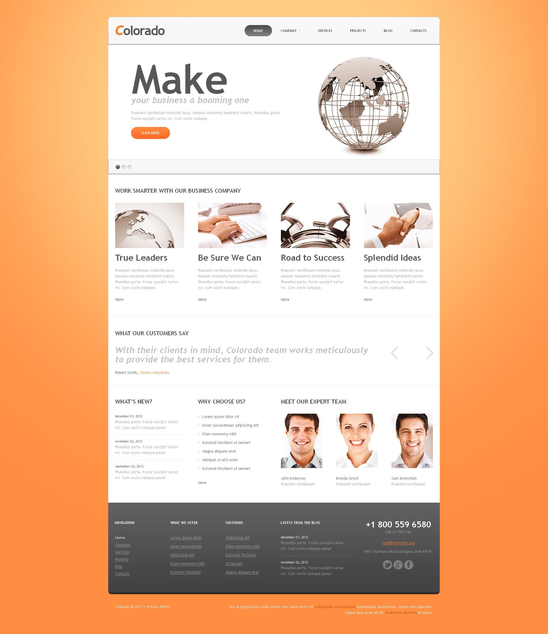 Responsive Muhasebe Web Sitesi Joomla #46095 - Ekran resmi
