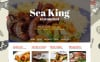 Responsive Sea King Restaurant Joomla Şablonu New Screenshots BIG