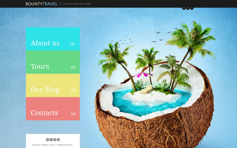 Travel Company Joomla Template New Screenshots BIG