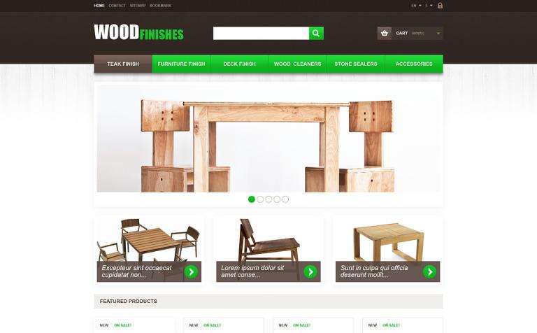 Wood Finishes PrestaShop Theme New Screenshots BIG. Wood Finishes PrestaShop Theme  46015
