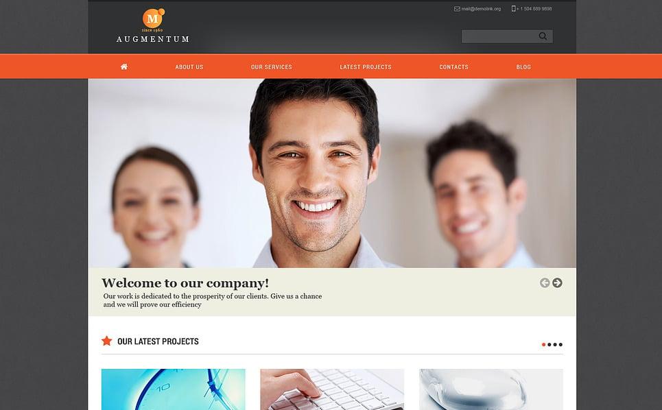 Responsive Joomla Vorlage für Marketing-Agentur  New Screenshots BIG
