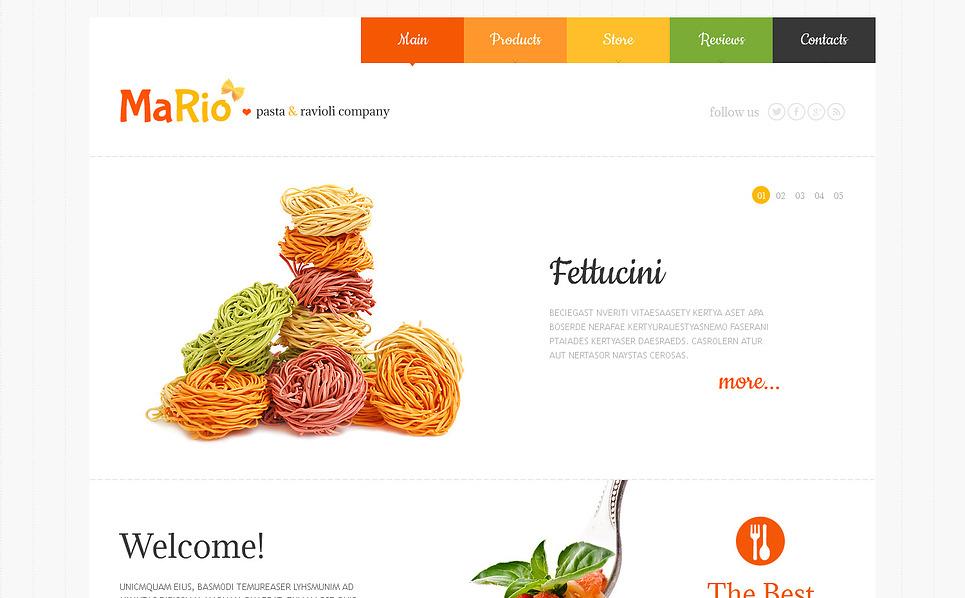 Thème Joomla adaptatif  pour un magasin d'alimentation New Screenshots BIG