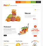Food & Drink Joomla  Template 46101