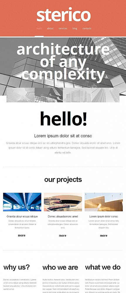 ADOBE Photoshop Template 46137 Home Page Screenshot