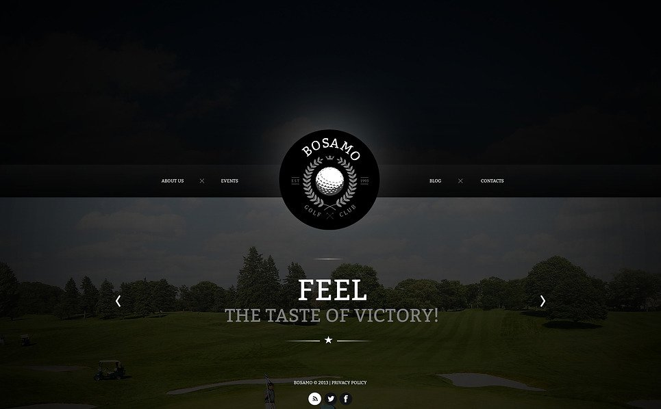 Bootstrap Golf  Web Sitesi Şablonu New Screenshots BIG