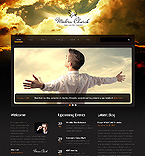 Religious Website  Template 46157
