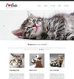 Animals & Pets Website  Template 46158