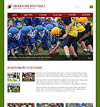 Sport Website  Template 46159