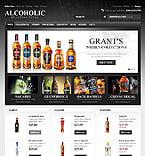 Food & Drink VirtueMart  Template 46166