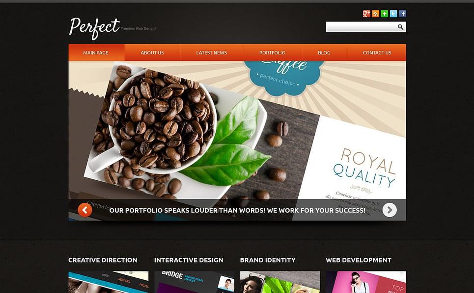 Responzivní Joomla šablona na téma Webový Design New Screenshots BIG