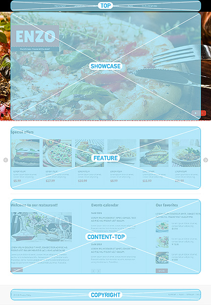 Joomla Theme/Template 46172 Main Page Screenshot