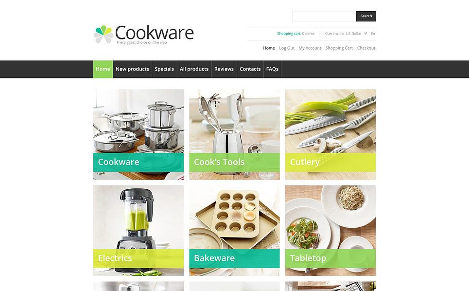 Plantilla ZenCart #46179 para Sitio de Artículos para el hogar New Screenshots BIG
