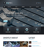 Music Website  Template 46182