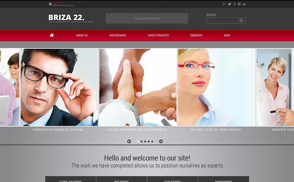 Template Joomla Flexível para Sites de Consultoria №46193 New Screenshots BIG