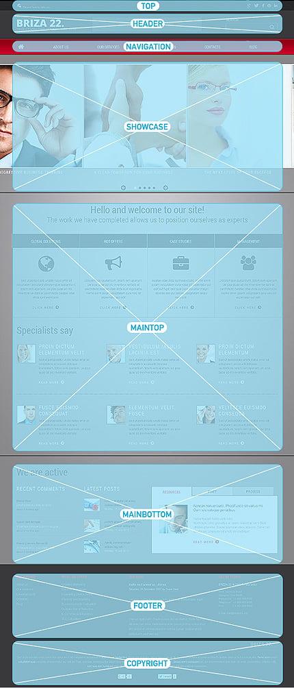 Joomla Theme/Template 46193 Main Page Screenshot