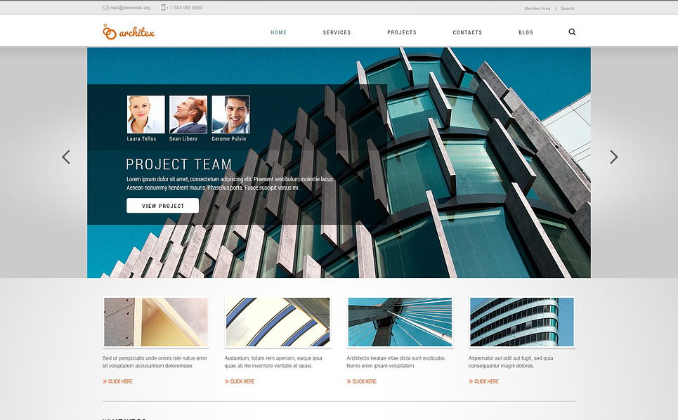 Responsive Joomla Template over Drafting  New Screenshots BIG