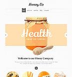 Food & Drink Website  Template 46198