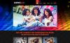 Адаптивний Joomla шаблон на тему школа танців New Screenshots BIG