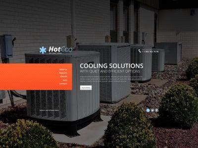 Air Conditioning Responsive Weboldal Sablon