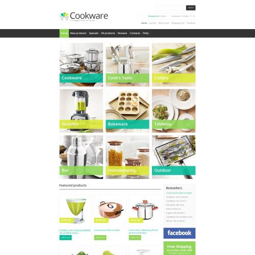 Cookware - HTML5 ZenCart Template
