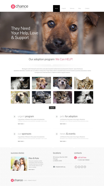 Impressive Animal Shelter Wordpress Theme 46165