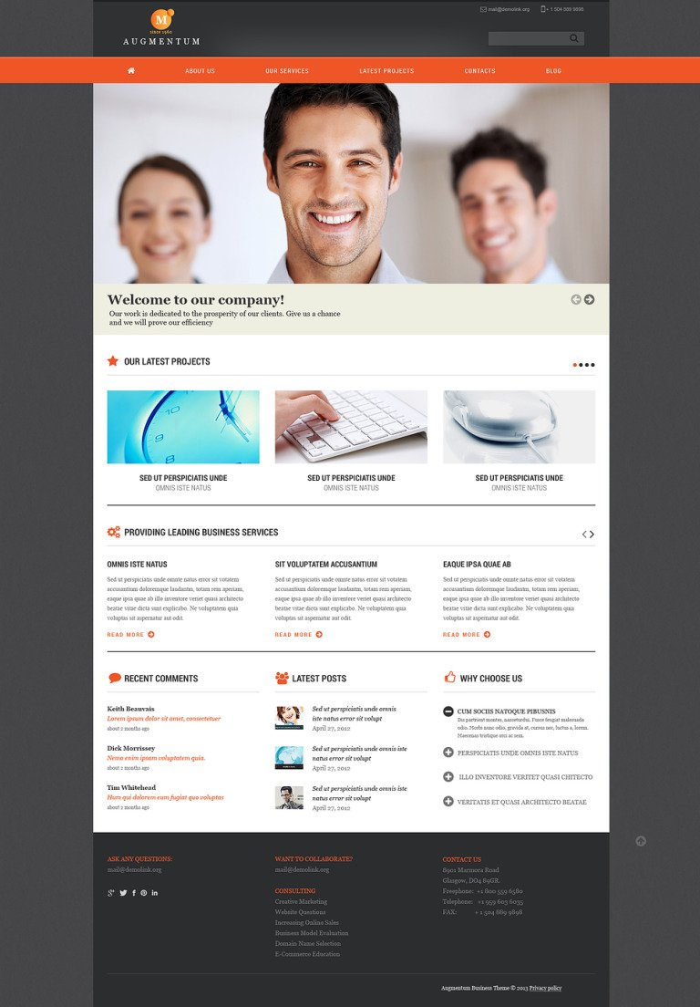 Marketing Agency Responsive Joomla Template New Screenshots BIG