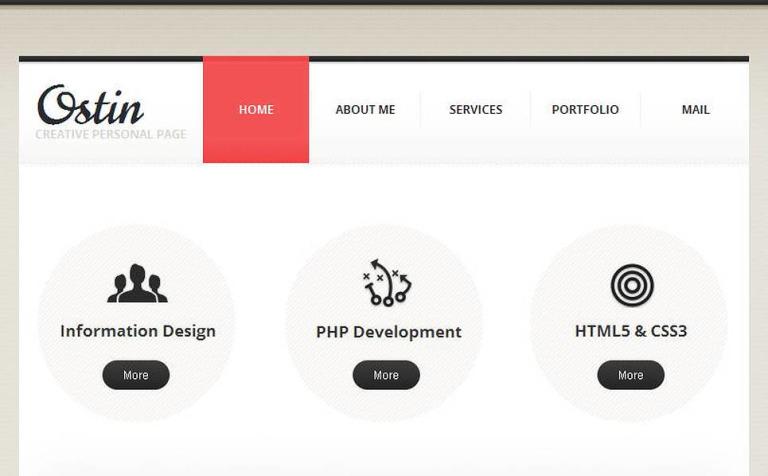 Plantilla Facebook HTML CMS #46125 para Sitio de Estudios de diseño